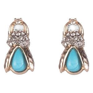 NEW! Alexis Bittar Scarab Stud Earrings